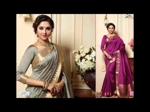 Designer Party Wear Sarees Latest Collection 2016 - 2017