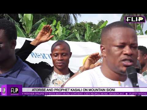 ATORISE AND PROPHET KASALI ON MOUNTAIN SIONI (Nigerian Lifestyle & Entertainment)