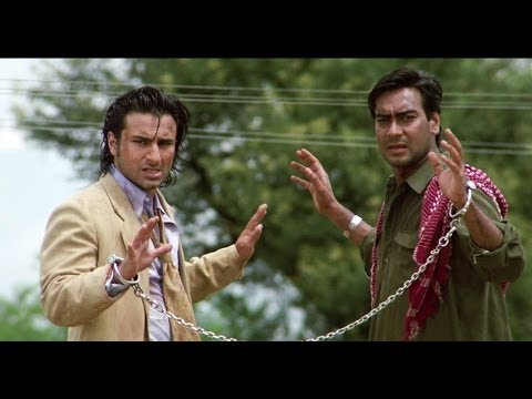 Video Saif Ali Khan & Ajay Devgn's Great Escape | Kachche Dhaage Movie Scene download in MP3, 3GP, MP4, WEBM, AVI, FLV January 2017
