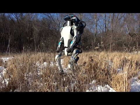 Atlas Boston Dynamics New Robot