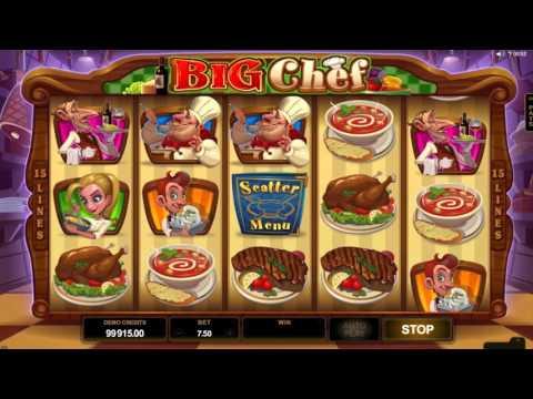 Big Chef™ free slots machine game preview by Slotozilla.com