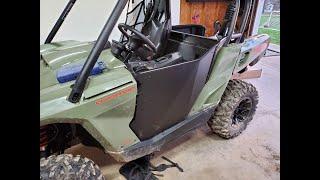 10. Installing Dirt Specialties Doors on Can Am Commander