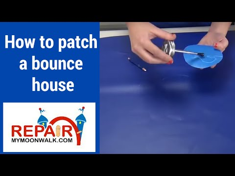 how to patch a jump house