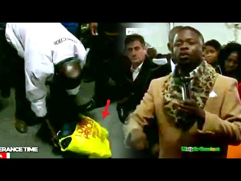 Herbalist Brings Charms To ECG In Shoprite Bag Caught By Prophet Bushiri Major 1