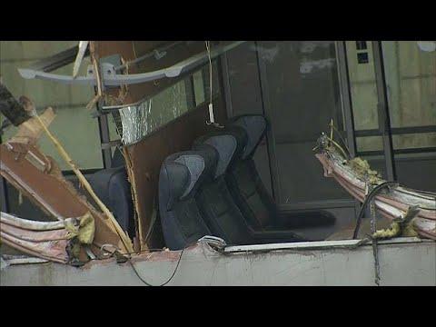 Eine Tote und mindestens 22 Verletzte bei Zugkollisio ...