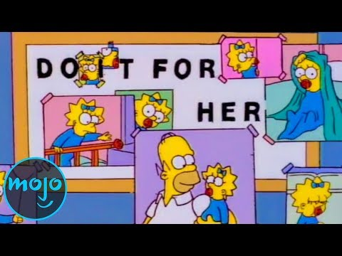 Top 10 Simpsons Moments That Will Make You Cry