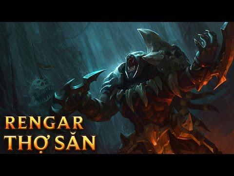 Rengar Thợ Săn - Headhunter Rengar