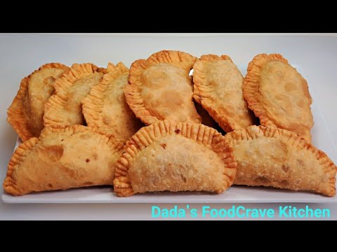 How To Make Gambian 🇬🇲 Meat Pie | Empanada | It's A Must Try | Dada's FoodCrave Kitchen