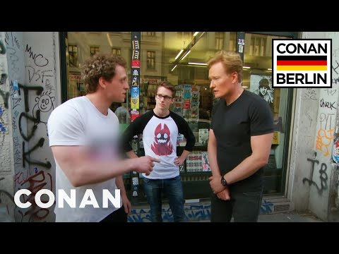 Conan gets corrected by a fan