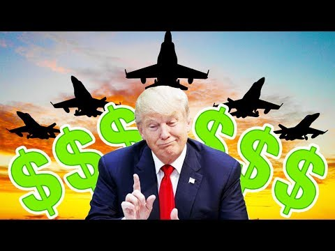Trump Begging Countries To Buy Weapons