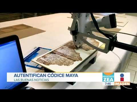 Autentifican códice maya