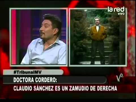 Esta es la discusión de la Dra Cordero y Felipe Avello por Claudio Sánchez