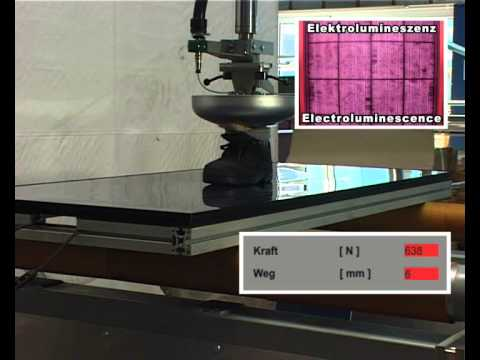 Ertex Solar BIPV Panel Quality and Durable Test