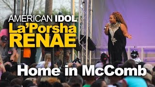 Mccomb (MS) United States  city images : La'Porsha Renae's Homecoming Concert in McComb, Mississippi