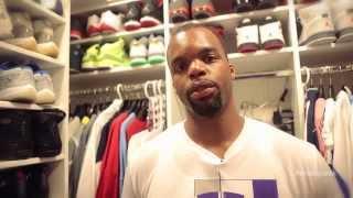 """A """"Sneak Peek"""" Inside Shelden Williams' Sneaker Closets"""