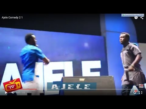 SEYI LAW FAST AND FUNNY: Comedian Ajele  2-1