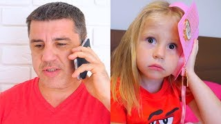 Video Nastya و papa ألعاب مسلية جديدة MP3, 3GP, MP4, WEBM, AVI, FLV Januari 2019