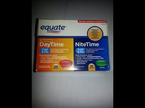 Equate Cold & Flu Soft Gels