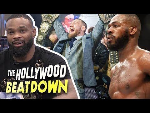 Tyron Woodley Wants McGregor Fight If He Beats Khabib | The Hollywood Beatdown (видео)