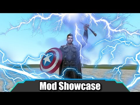 Garrys Mod - Garry's Mod  The ULTIMATE Superhero Mod!  Mod Showcase