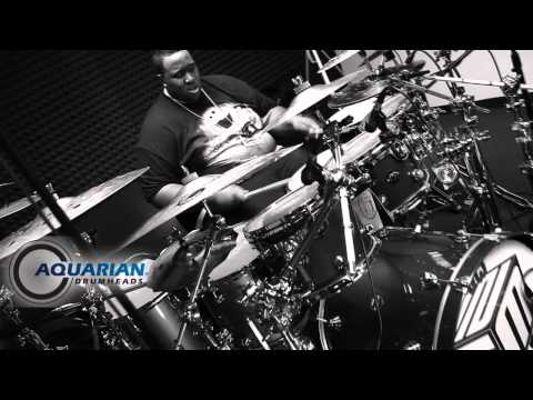 Aquarian - Hello everyone. This video is to you all who always want to know what Im playing. Well here it is. I am a aquarian drum head artist and Im honored to be play...