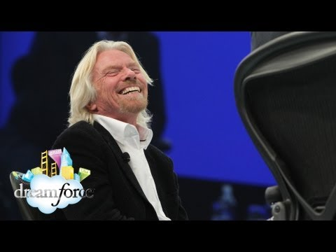 dreamforce - Marc Benioff and Sir Richard Branson share many traits: they are both entrepreneurs, both are dedicated to philanthropy, and both transformed industries with...