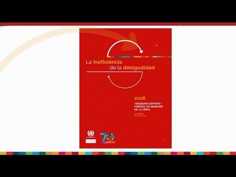 """Panel de la ACNU """"La ineficiencia de la desigualdad"""" durante el 37 período de sesiones de la CEPAL"""