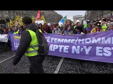 Frankreich: »Pinkwesten« fordern mehr Frauenrechte