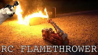 Download Video Flamethrower RC FIRETRUCK MP3 3GP MP4