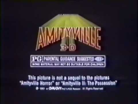 Amityville 3-D 1983 TV Trailer