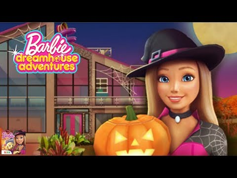 Barbie Dreamhouse Adventures - BIG HALLOWEEN UPDATE More Costume and Decoration