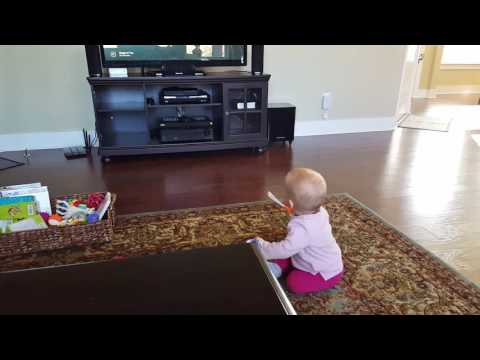 Baby Dancing To Ed Sheeran's Shape Of You