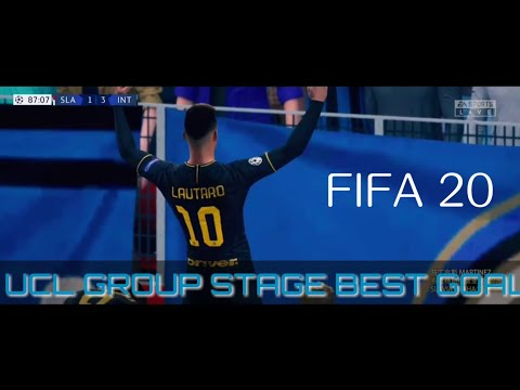 19/20 UCL GROUP STAGE  BEST GOAL REMAKE  IN FIFA 20