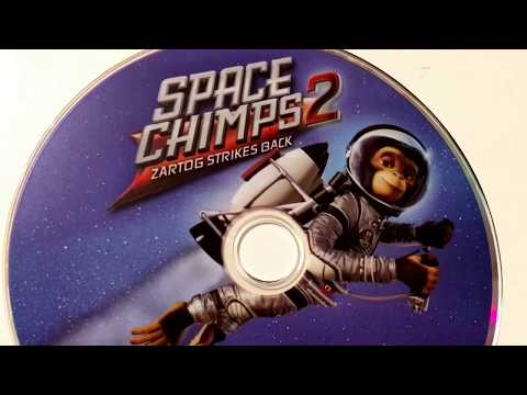 Space Chimps 2 * Zartog Strikes Back * Animated Cartoon * DVD Movie Collection