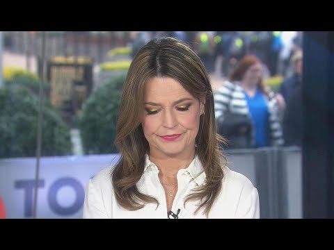 Savannah Guthrie Accidentally Curses on 'Today' -- Watch!