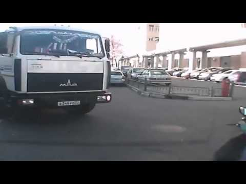 Авария с хрустопедом в Москве