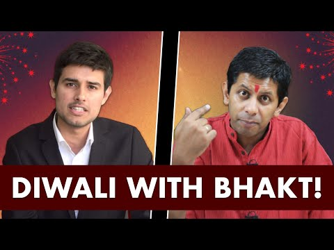 Diwali with Bhakt | Pee News Interview by Dhruv Rathee ft. Akash Banerjee on crackers