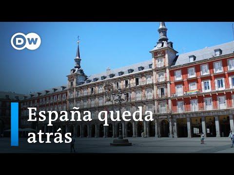 España se descuelga de Europa