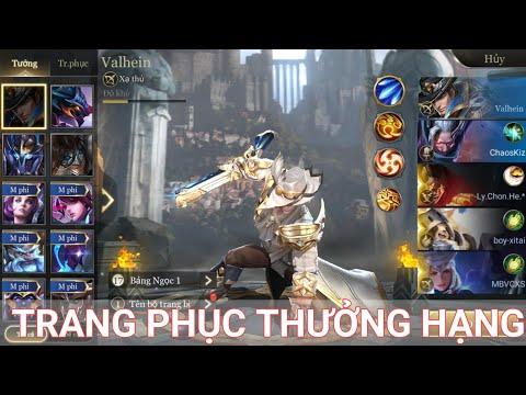 Trải nghiệm trang phục VALHEIN Quang Vinh - Trang phục thưởng hạng mùa 7 Liên Quân Mobile