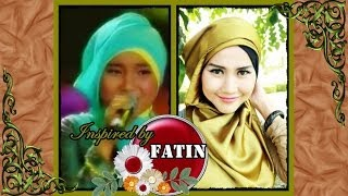 Modern Hijab Tutorial | Satin Square | Inspired By Fatin Shidqia - Part #34