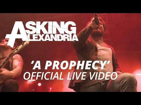 Download Lagu Asking Alexandria - A Prophecy (Official HD Live Video) Music Video
