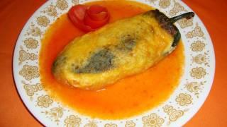 RECETA DE LOS CHILES RELLENOS PARTE 1/2 - La receta del abuelita