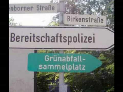 Die lustigsten Schilder Deutschlands