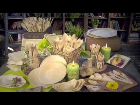 Одноразовая посуда оптом - производитель ECOVILKA