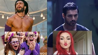 "Video ""Bollywood better than Hollywood"" says American - Compilation - Reaction Video MP3, 3GP, MP4, WEBM, AVI, FLV Agustus 2018"