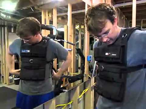 MiR Pro 60Lbs Adjustable Weighted Vest (One size fits all. WEIGHTS INCLUDED.).(review)