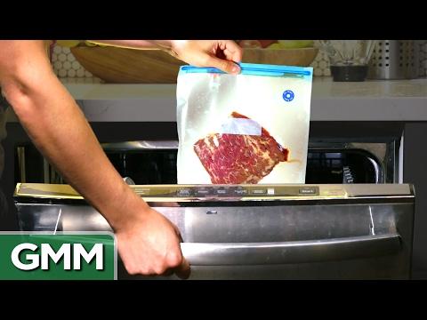 11 • E24___  _    Cooking a Steak in a Dishwasher