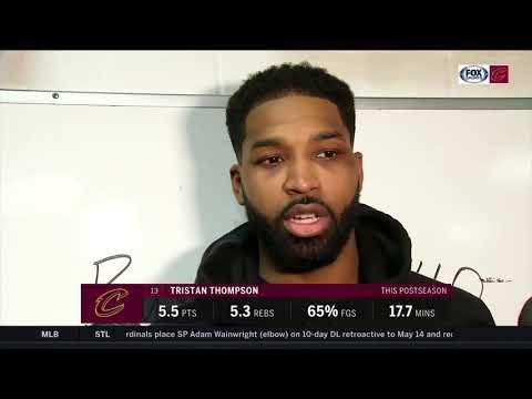 Tristan Thompson postgame: Communication is key for Cavs to improve defensively vs. Celtics