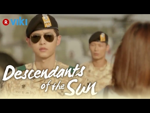 Descendants Of The Sun - EP3 | Song Joong Ki Comes Out Of Airplane To Greet Song Hye Kyo [Eng Sub]