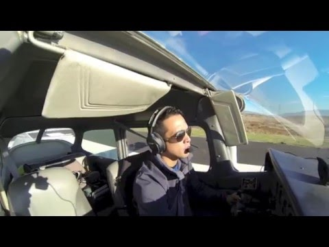 First Solo Flight - Cessna 172